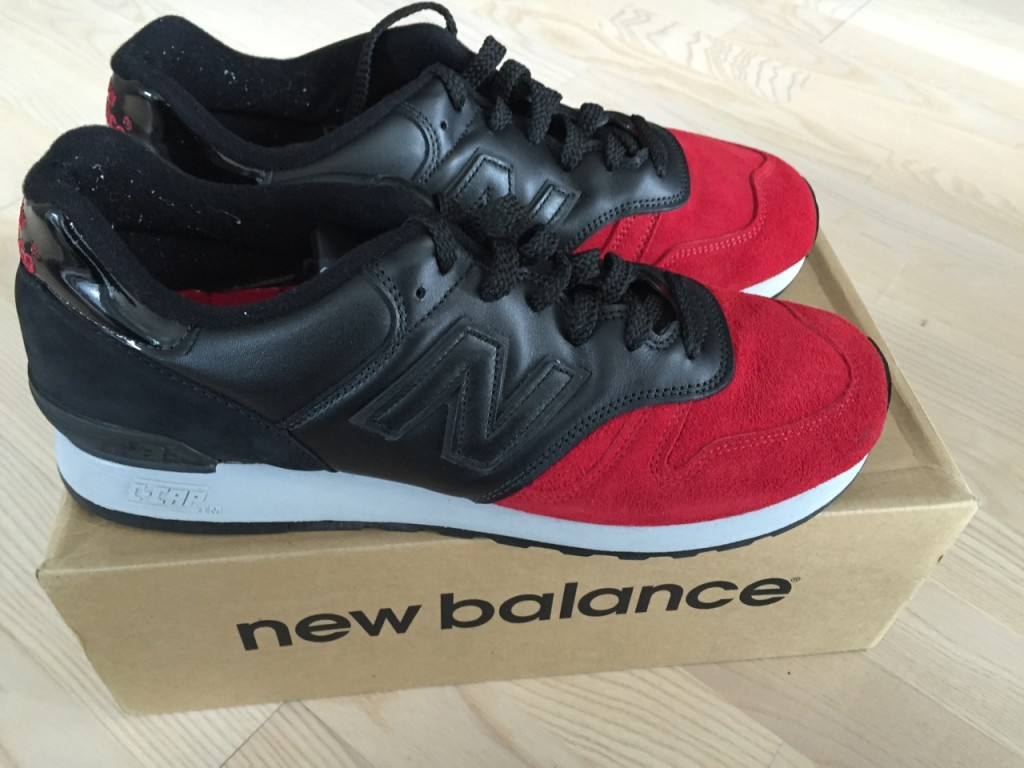 New Balance 670 BRB aka Red Devils. Sz 12 us. VNDS with OG all (made in the UK).